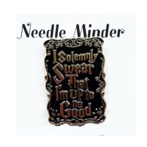 Sew Better Cross Stitch Needle Minder Keeper I Solemnly Swear