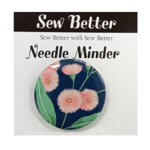 Sew Better Cross Stitch Needle Minder Keeper FLOWERS