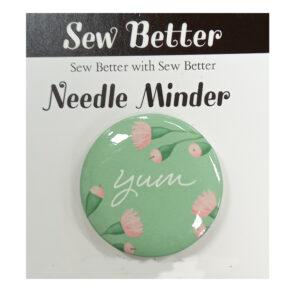 Sew Better Cross Stitch Needle Minder Keeper YUM