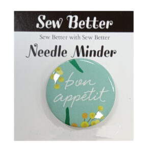 Sew Better Cross Stitch Needle Minder Keeper BON APPETIT