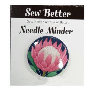 Sew Better Cross Stitch Needle Minder Keeper PROTEA