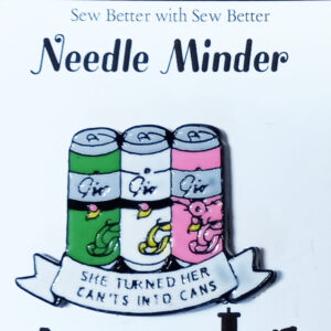 Sew Better Cross Stitch Needle Minder Keeper Turned Can'ts into Cans