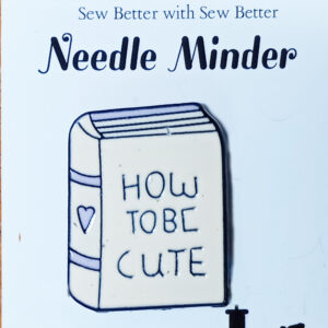 Sew Better Cross Stitch Needle Minder Keeper How To Be Cute