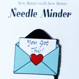 Sew Better Cross Stitch Needle Minder Keeper You Got This Envelope