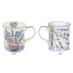 Elegant Kitchen Tea Coffee Lavender 415mm Mugs Cups Set of 2