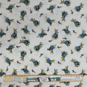 Patchwork Quilting Sewing Fabric Peter Rabbit 50x55cm FQ Material