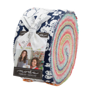 Quilting Jelly Roll Patchwork Moda Shine On 2.5 Inch Sewing Fabrics
