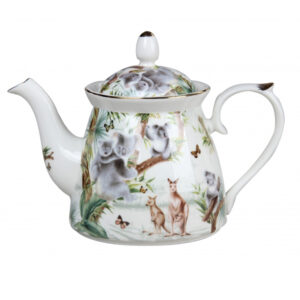Elegant Kitchen Teapot Australian Wildlife China Tea Pot 1 Litre