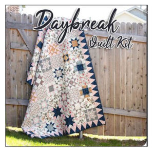 Quilting Patchwork Moda Quilt Kit in a Box Daybreak Sewing Fabrics