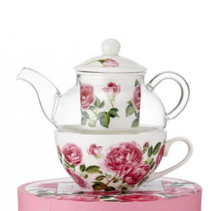 Ashdene French Country Kitchen Tea For One Heritage Rose Teapot
