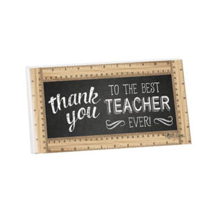 French Country Wooden Sign Teachers BEST EVER Hanging Plaque