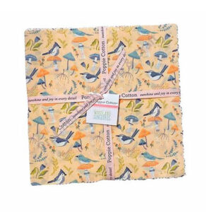 Quilting LAYER CAKE Patchwork Woodland Song Bird 10 Inch Fabrics