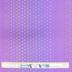 Quilting Sewing Fabric Tula Pink True Colours Purple 50x55cm FQ Material