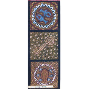 Patchwork Quilting Sewing Fabric Aboriginal Indigenous Panel A 41x110cm