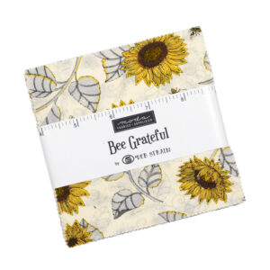 Moda Quilting Charm Pack Patchwork Bee Grateful 5 Inch Sewing Fabrics