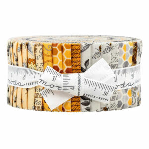 Moda Quilting Jelly Roll Patchwork Bee Grateful 2.5 Inch Sewing Fabrics