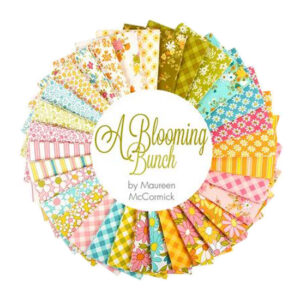 Moda Quilting Charm Pack Blooming Bunch 5 Inch Sewing Fabrics