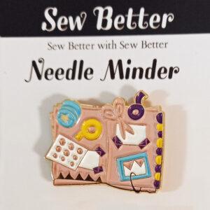 Sew Better Cross Stitch Sewing Needle Minder Keeper Crafty Stuff