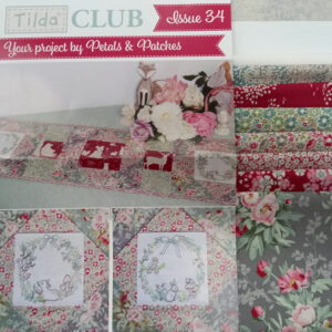 Tilda Club Woodland Issue 34 Quilting Sewing Fabric Issue Craft Pattern Kit