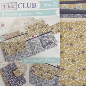 Tilda Club Maple Farm Issue 33 Quilting Sewing Fabric Issue Craft Pattern Kit