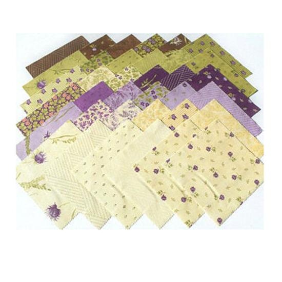 Moda Quilting Layer Cake Patchwork Mill Creek Garden 10 Inch Fabrics