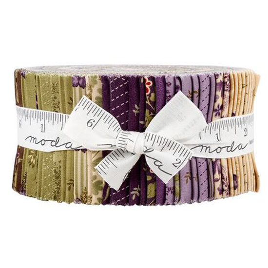 Moda Quilting Jelly Roll Patchwork Mill Creek Garden 2.5 Inch Sewing Fabrics