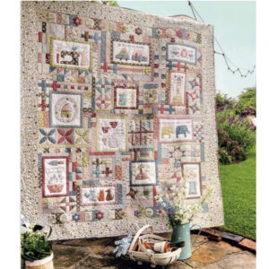 Homespun BOM Letters to My Daughter Full Fabric Kit by Natalie Bird