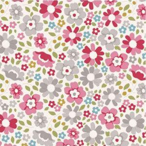 Quilting Patchwork Sewing Fabric TILDA Woodland Clara Red 50x55cm FQ