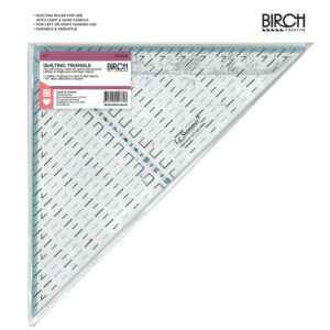 Quilting Patchwork Sewing Template 90Deg 12 Inch Triangle Birch Ruler