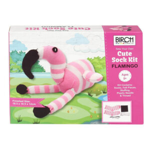 Birch Sew Your Own Sock Kit Kids Beginner Flamingo Inc All Materials