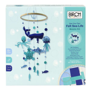 Birch Sew Your Own Felt Mobile Craft Kit Sea Life DIY