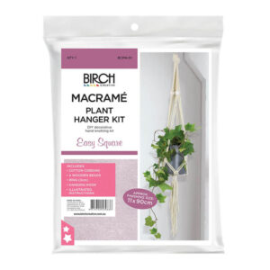 Creative Macrame Kit Plant Hanger Easy Square Make your Own