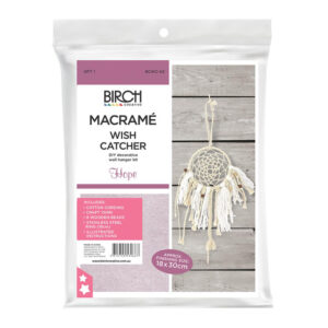 Creative Macrame Kit Wish Catcher Hope Make your Own