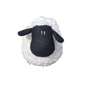 French Country Vintage Weighted SAMMY THE SHEEP Door Stopper
