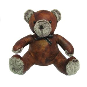 French Country Vintage Weighted THEODORE TEDDY Door Stopper