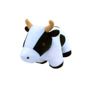 French Country Vintage Weighted BESSIE THE COW Door Stopper
