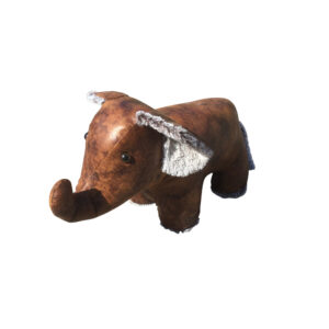 French Country Vintage Weighted ELLIE THE ELEPHANT Door Stopper