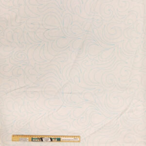 Quilting Patchwork Fabric Sewing Cream Preprinted Wide Backing 270x50cm