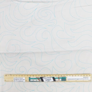 Quilting Patchwork Fabric Sewing White Preprinted Wide Backing 270x50cm