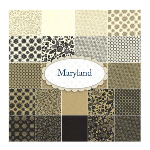 Moda Quilting Jelly Roll Patchwork Maryland 2.5 Inch Sewing Fabrics