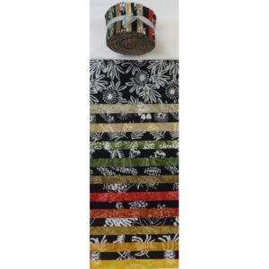 Batik Australia Quilting Jelly Roll Bush Tucker 2.5 Inch Sewing Fabrics