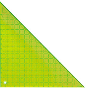 Quilting Patchwork Sewing Template 8'' 90Deg Triangle Matildas Own