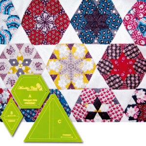 Quilting Patchwork Sewing Template Hexagon Party 8'' Matildas Own