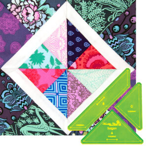 Quilting Patchwork Sewing Template Saigon 10'' Block Matildas Own