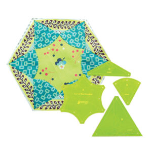 Quilting Patchwork Sewing Template Curved Star Hexagon 8'' Matildas Own