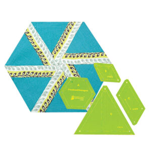 Quilting Patchwork Sewing Template Whirligig Hexagon Matildas Own