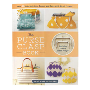 The Purse Clasp Book including 2 Metal Clasps Hardware