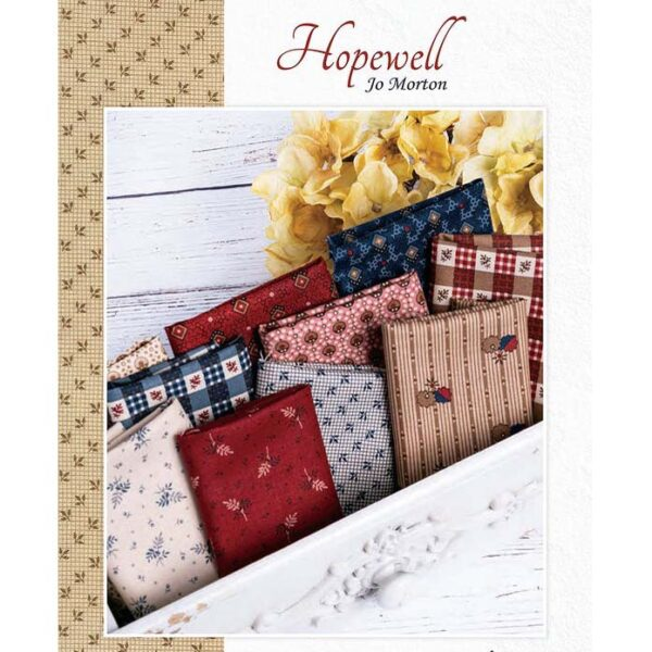 Moda Quilting Jelly Roll Patchwork Hopewell 2.5 Inch Sewing Fabrics