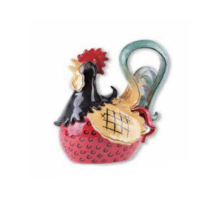 Collectable Kitchen Teapot Alberto Rooster Blue Sky China Tea Pot