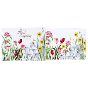 Ashdene Dining Kitchen Floral Symphony Cork Back Placemats Set 6